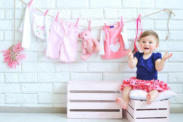 Как стирать детскую одежду