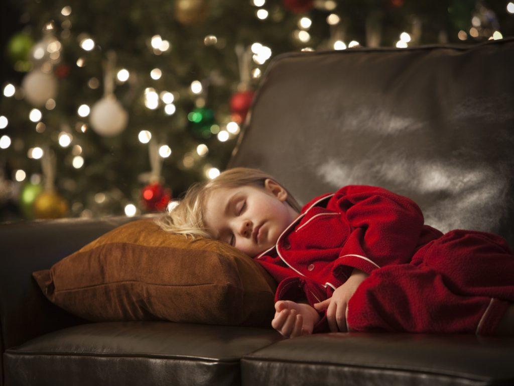 Как убедиться, что ваши дети не слишком подвержены стрессу во время праздников