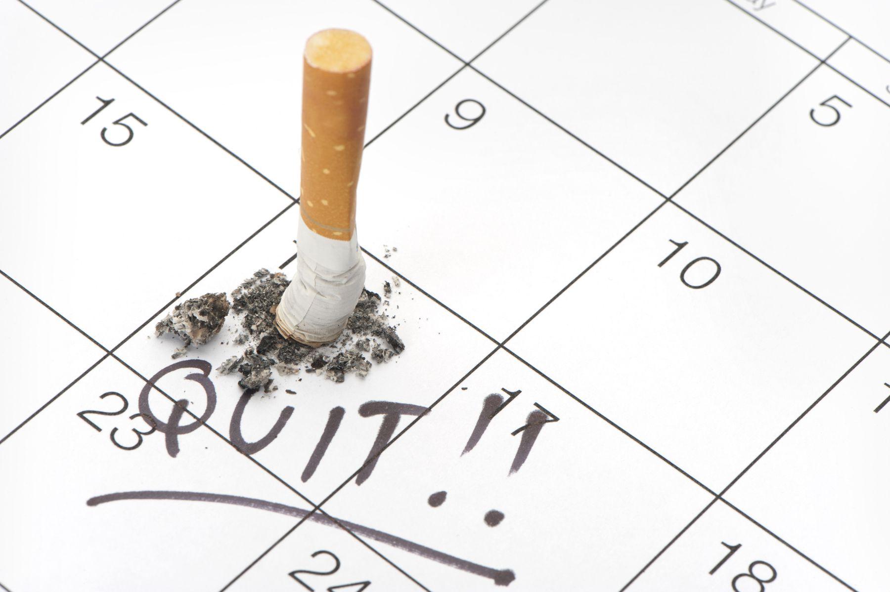 Когда лучше всего бросить курить?