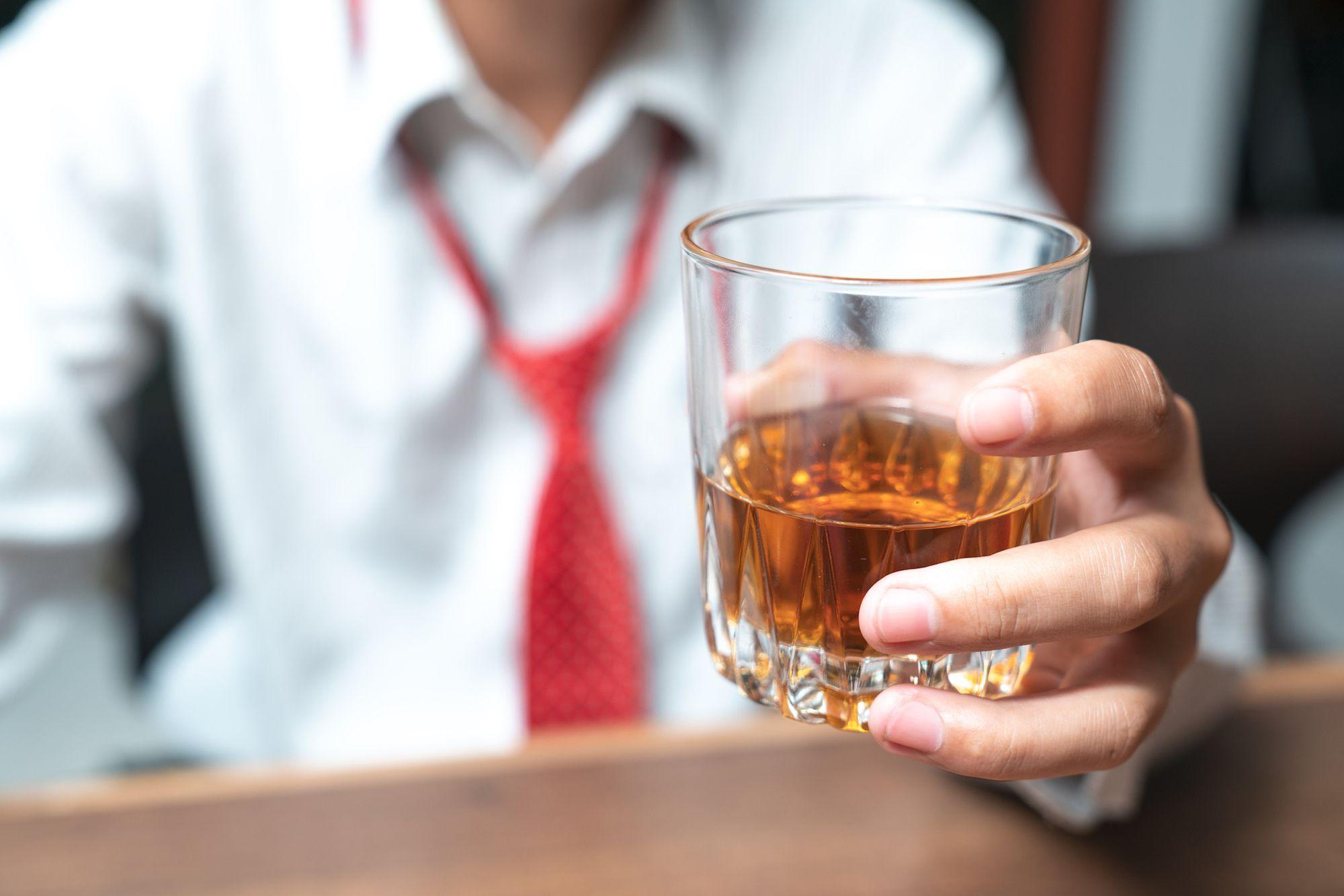 Питье для снятия стресса может усугубить проблему