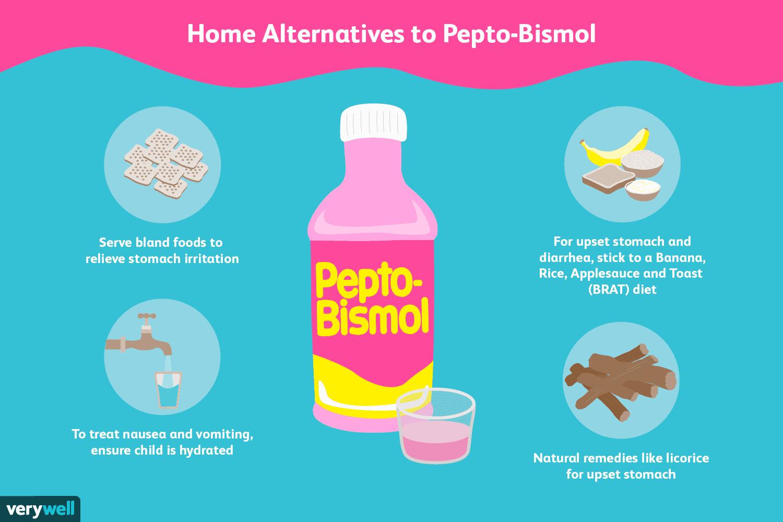 Почему вы должны дать своим детям альтернативу пепто-бисмолу