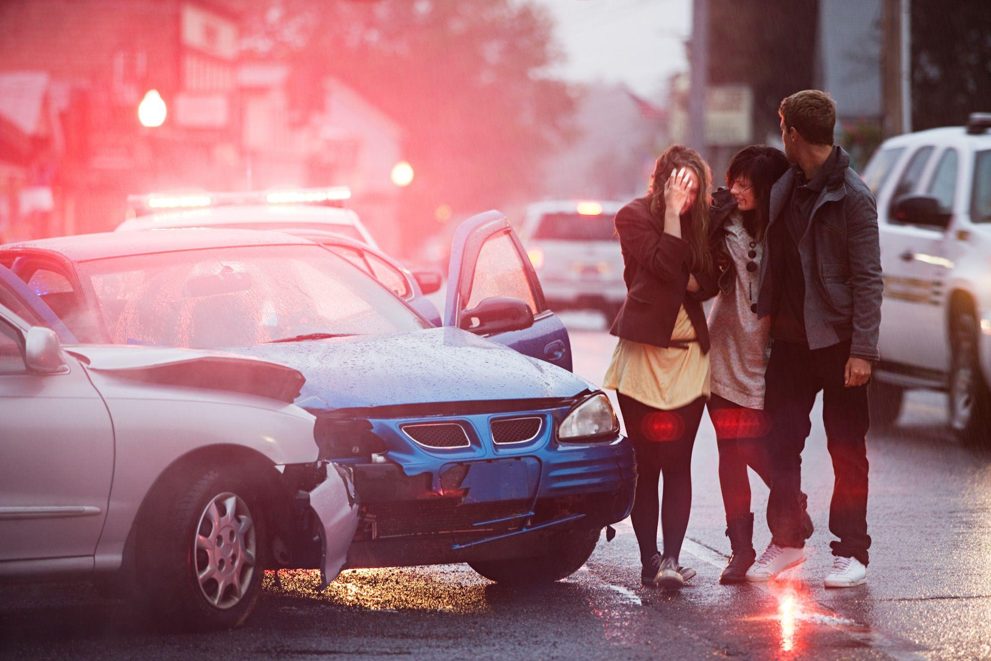 Риск развития посттравматического стрессового расстройства, когда вы попали в автомобильную аварию