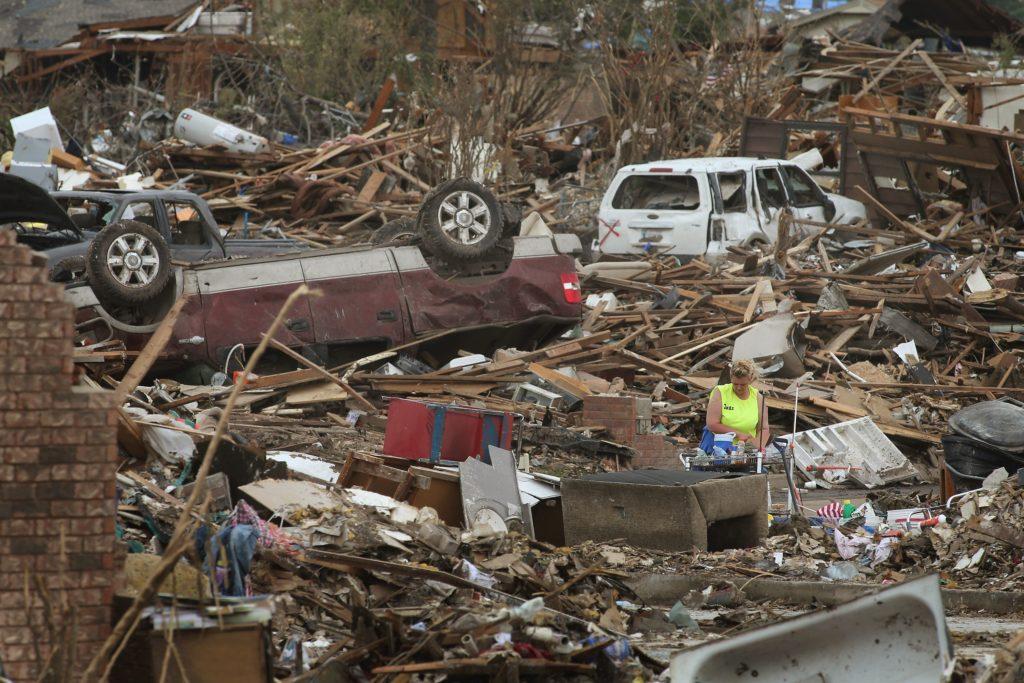 Справиться с ПТСР после стихийного бедствия