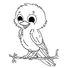Топ 20 раскрасок с птицами, которые ваш малыш полюбит покрасить
