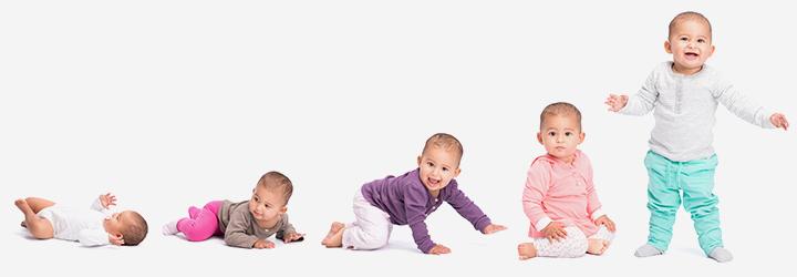 Физическое развитие у младенцев и малышей