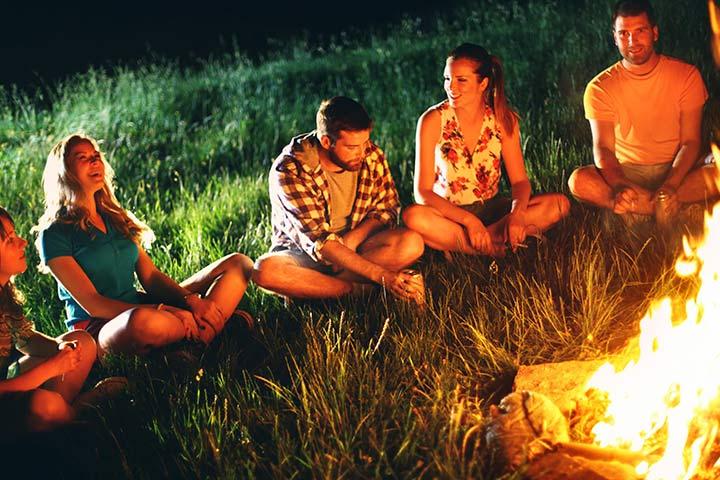 Отдых на природе и игры для подростков