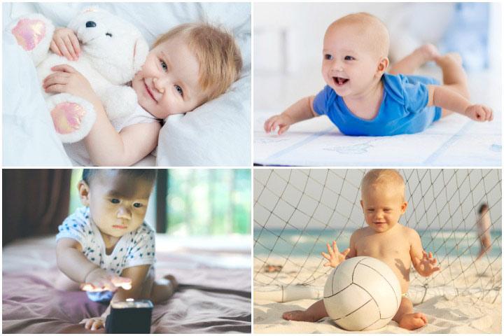 17 забавных и интересных 5-месячных занятий для детей