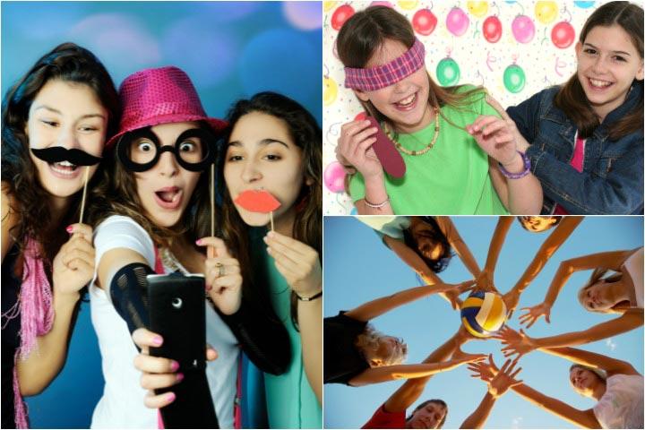 Веселые игры для подростков