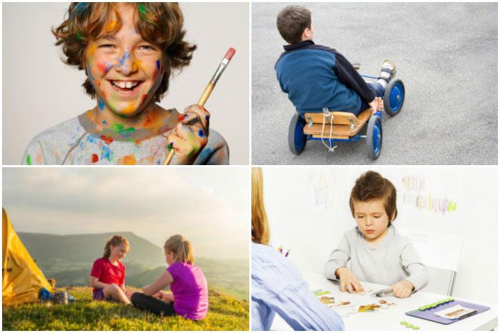 Веселые занятия для аутичных подростков