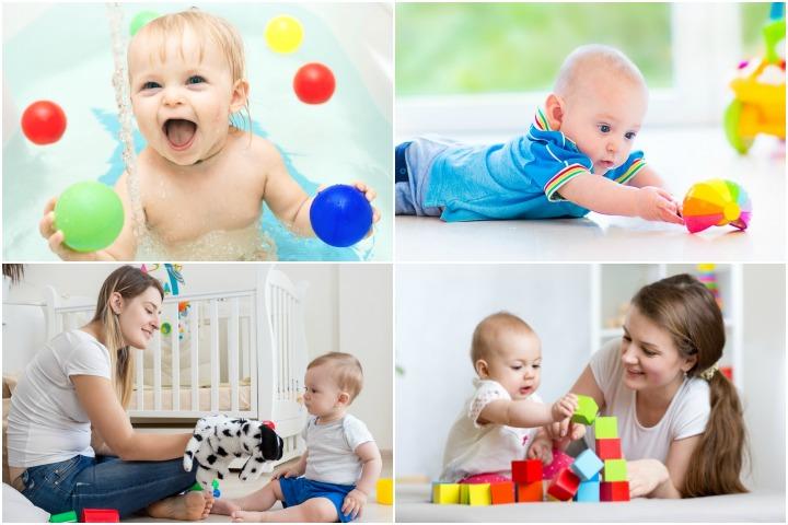 22 учебные мероприятия и игры для вашего 7-месячного ребенка