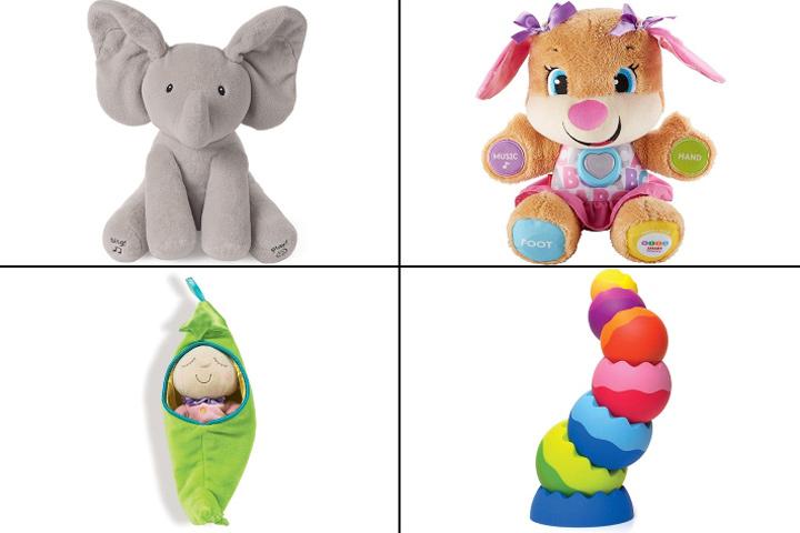 Лучшие игрушки для вашего 8-месячного ребенка