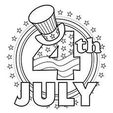 Раскраски 4 июля