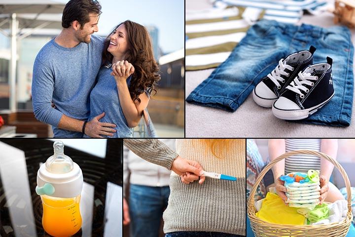 37 забавных способов сказать мужу, что ты беременна