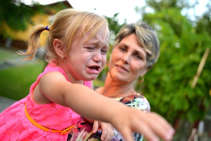 Проблемы с поведением у малышей
