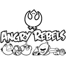 Раскраски Angry Rebels
