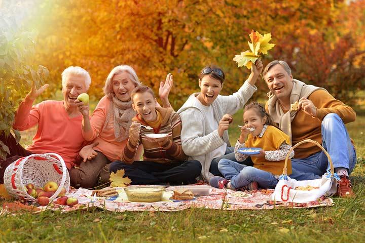 Лучшие идеи воссоединения семьи