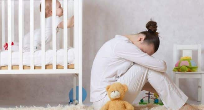 depression, depression in mothers, mother and child