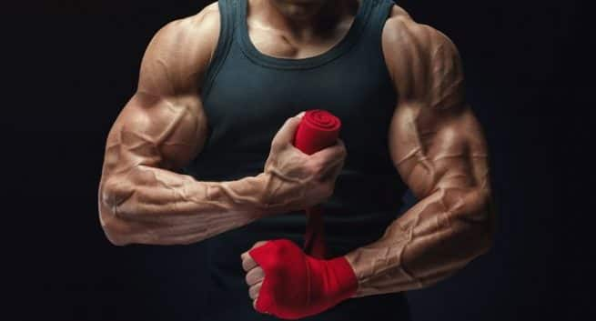 Fitness-popped veins-THS